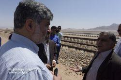 بازدید موسوی نماینده یزد و اشکذر از بندرخشک پیشگامان