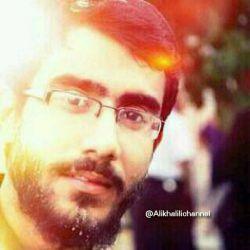 """خونِ """"عباس""""  بوده در رگِ تو!  غیرتت عشق را سبب ساز است...  #شهید_علی_خلیلی"""