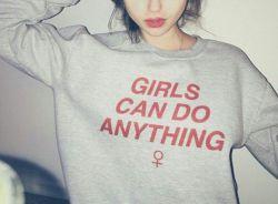 **Girls can co anything**خلاصه اینکه دست کم نگیرید ما دخی ها روووو