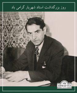 روز بزرگداشت استاد شهریار و روز ملی شعر و ادب پارسی گرامی باد