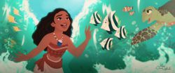 Disney Moana 2016 - قضیه ش داره شبیه داستان حضرت موسی می شه!!!!! یکم ترسیدم.
