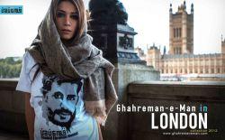 این تصاویر مربوط به یک گروه هنری در شهر لندن انگلیس میباشد که قصدشان از این کار به نوعی ارج نهادن به شهدای کشورمان است. #My hero – Ghahre mane man #قهرمان من