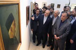 ازدید معاون رییس جمهور از موزه هنرهای معاصر صنعتی در کرمان - 07 شهریور 1395