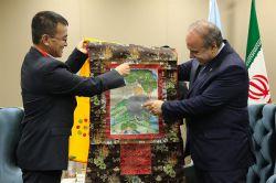 دیدار رییس سازمان میراث فرهنگی با وزیر گردشگری کشور بوتان - 08 شهریور 1395