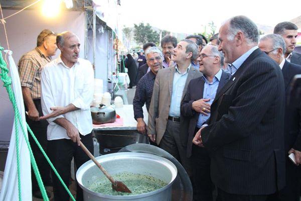افتتاحیه یازدهمین جشنواره ملی آش ایرانی در زنجان - 09 شهریور 1395