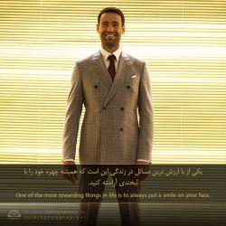 در اولین روز هفته بیشتر لبخند بزنید... #hacoupian #iran #tehran #smilemore #saturday #news #begining #start #rewarding #هاکوپیان #ایران #تهران #آغاز #برند #لبخند #مردانه #باارزش #مثبت