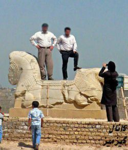 دوستان دقت کنید ما 2500 سال تمدن نداریم....بلکه 2500 سال پیش متمدن بوده ایم...
