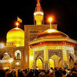 هر کی که دلش برای امام رضا و حرم باصفاش تنگ شده لایک کنه!!!