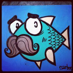 سیبیل ماهی پیر