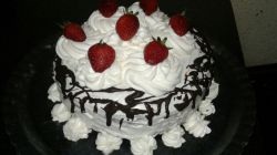 کیک تولدم... دستپخت من