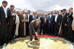 سفر به منطقه آزاد ماکو و افتتاح و کلنگ زنی چندطرح عمرانی - 1 مهر 1395