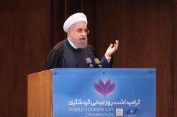 مراسم بزرگداشت روز جهانی گردشگری با حضور رئیس جمهور - 05 مهر 1395