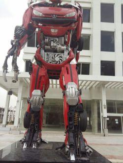 مجسمه ماشین مبدل