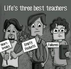 زندگی 3معلم دارد...