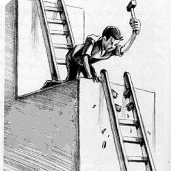 آیا بهتر نیست به جای آنکه دیگران را پایین نگه دارید به فکر بالا رفتن خودتان باشید؟