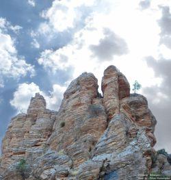 کوههای صخر ه ای اورامانات