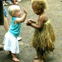 تنها یک نژاد وجود دارد،آنهم نژاد انسانیت است...!؟