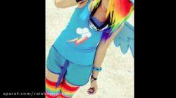 تقدیم به rainbow girl add