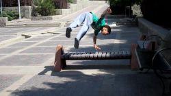 نینجا کوچولو در پارک تبریز...