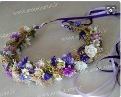 جدیدترین مدل های تاج گل عروس را در سایت ما ببینید: www.aroosbarun.ir