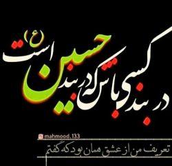 #شکر خدا را که در پناه حسینم/عالم از این خوبتر پناه ندارد