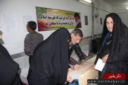 تصاویر انتخابات مجلس 7 اسفند 94  در آوه