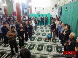 عزاداری شام یتیمان کوفه در شهر تاریخی آوه