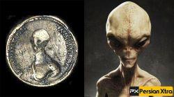 سکه های باستابی که تصویر فرازمینی ها روی آن حک شده ، ثابت میکنند که فرازمینی ها در میان ما زندگی میکرده اند http://persianxtra.ir/?p=1196