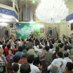 شب عید مبعث مشهد مقدس #حاج محمدرضا طاهری #حاج سید مجید بنی فاطمه #کربلایی حسین طاهری