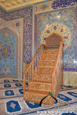 نمونه کار تزیینات داخلی مسجد
