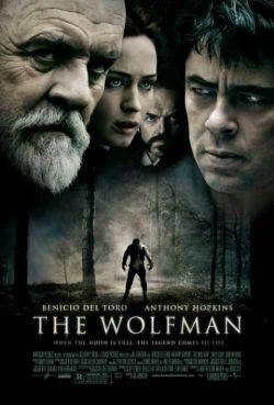 پوستر فیلم ترسناک مرد گرگ نما با بازی درخشان بنیسیو دل تورو/سر آنتونی هاپکینز و...