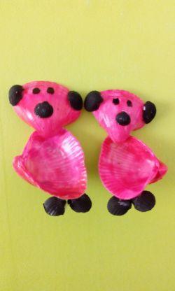 این عروسک های صدفی رو خودم درست کردم