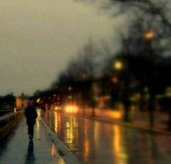 "حالِ خرابِ حضرتِ #پاییز، مالِ من/ شأنِ نزولِ سوره ی باران به نامِ تو/ تنها نه من به ""مهرِ"" تو، #آذر به جان شدم/ دلتنگیِ دقایقِ "" آبان"" به نامِ تو..."