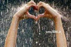 باز باران با ترانه می خورد بر سقف قلبم باورت شاید نباشد خسته است این قلب تنگم....
