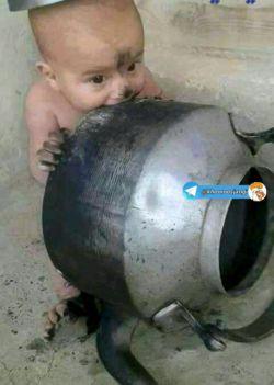مدیر از بچگی چایی رو با کتریش میخورد ((((: