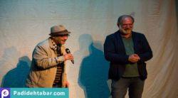 حسین محب اهری خاطرات شیرین خود را با همراهی دوست دیرینهاش آتیلا پسیانی بر روی صحنه مراسم تجلیل، بازگو کرد... http://padidehtabar.com/fa/news/3656