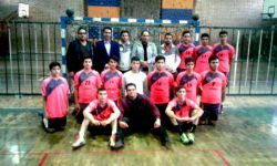 تیم قهرمان هندبال مسابقات تهران سامنات ورامین اره اینه