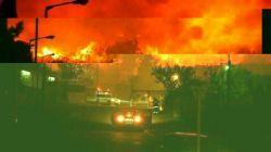 #اسرائیل از کشور ترکیا ،ایطالیا ،یونان وقبرص کمک خواسته تا از حرکت این آتش بزرگ جلوگیری کند