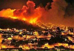 #اسرائیل آتش میگیرد  بعد از ممنوع کردن اذان در قدس، آتش در اسرائیل شعله ور میشود ...''الاعراف ''(99) 99 ) آیا آنها از مکر (وگرفت) خدا در امانند؟! در حالی که جز زیانکاران (کسی) از مکر (وگرفت) خدا ایمن نمیرود