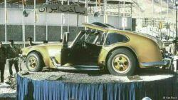 تصویری از خودرویی که توسط مهندسین ایرانی در سال ۱۳۵۳طراحی و ساخته شد ولی تولید نشد.