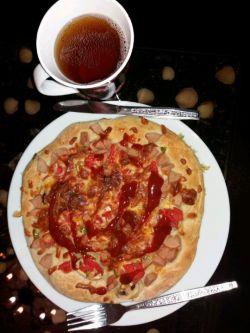 جاتون خالی  پیتزای خونگی دستپخت خودم #بازی-با-روح-و-روان