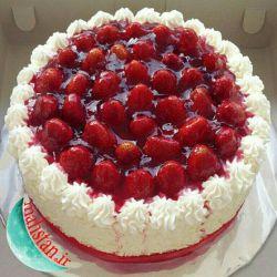 تولدت مبارک یزدان این کیک واسه توه انشااله ۱۰۰۰ ساله شی دوست مهربون (⌒_⌒✿)