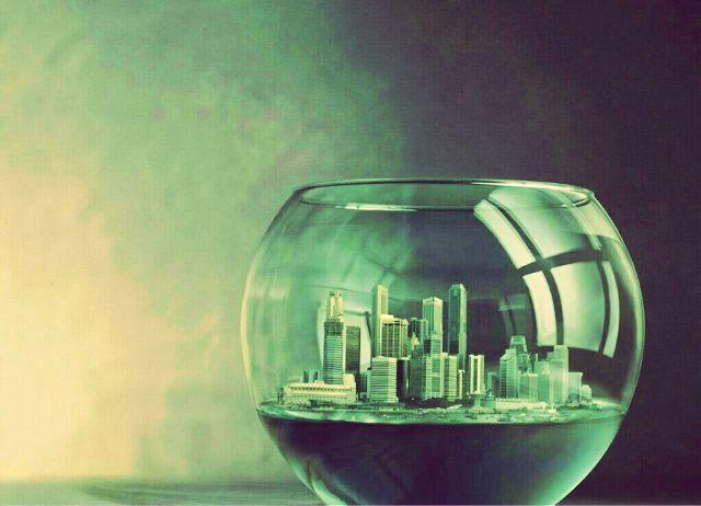همیشه فکر کن... تو یِه دنیای شیشه ای زندگی میکنی... پس بطرف کسی سنگ پرتاب نکن، چون اولین چیزی که می شکنه.. دنیای خودته...