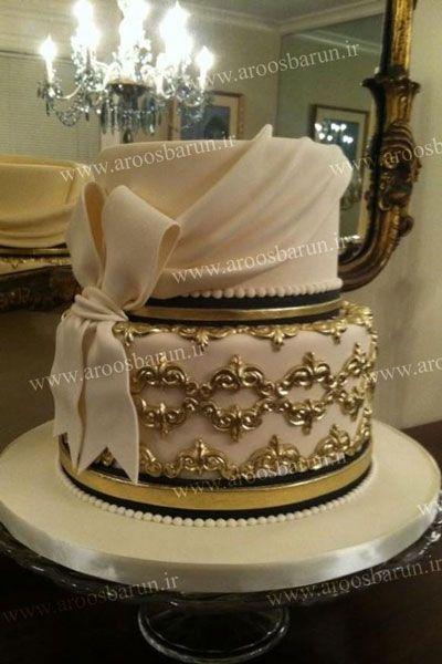 مدل های جدید کیک عقد در سایت عروس برون aroosbarun.ir