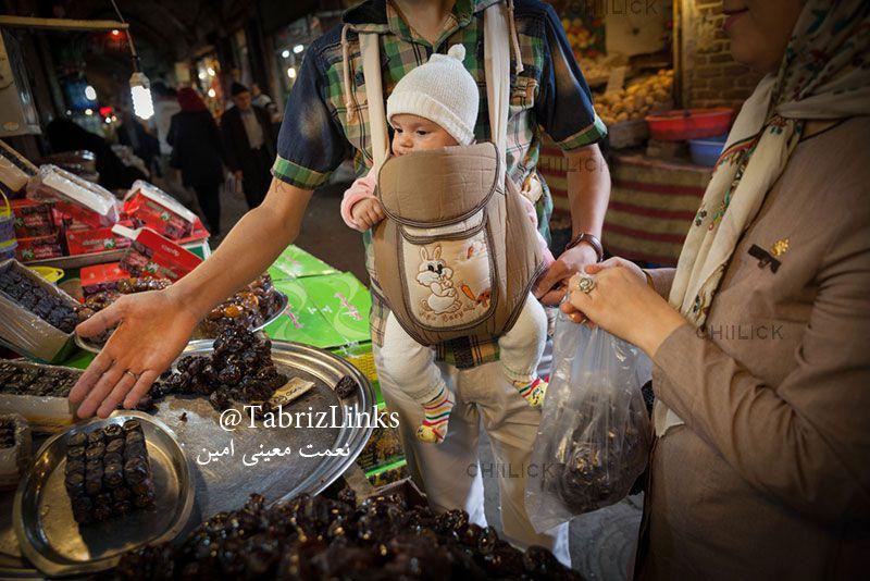 خرید کردن در بازار تبریز
