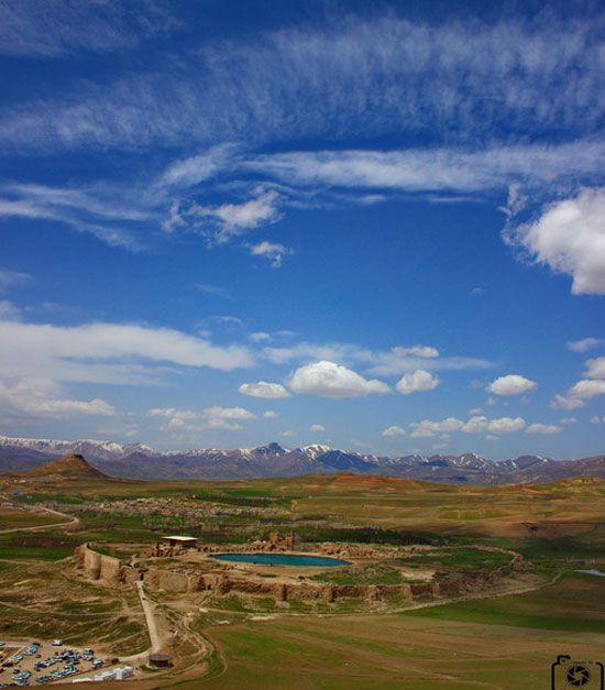 تخت سلیمان تکاب - تیکان تپه آذربایجان غربی