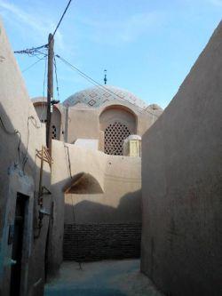 کوچه های قدیمی اطراف مسجدجامع یزد
