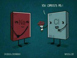 درخواست ازدواج بامزه :)  #شیمی