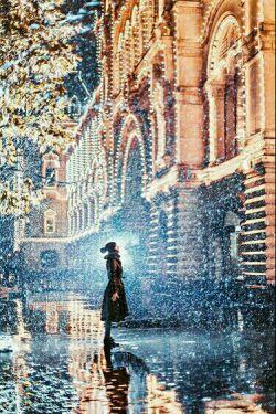 زیبایی افسانه ای مسکو در زمستان توسط عکاس کریستینا ماکیوا