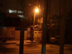 الهی شکرت بالاخره ارومیه هم برف اومد خدایااا شکررر